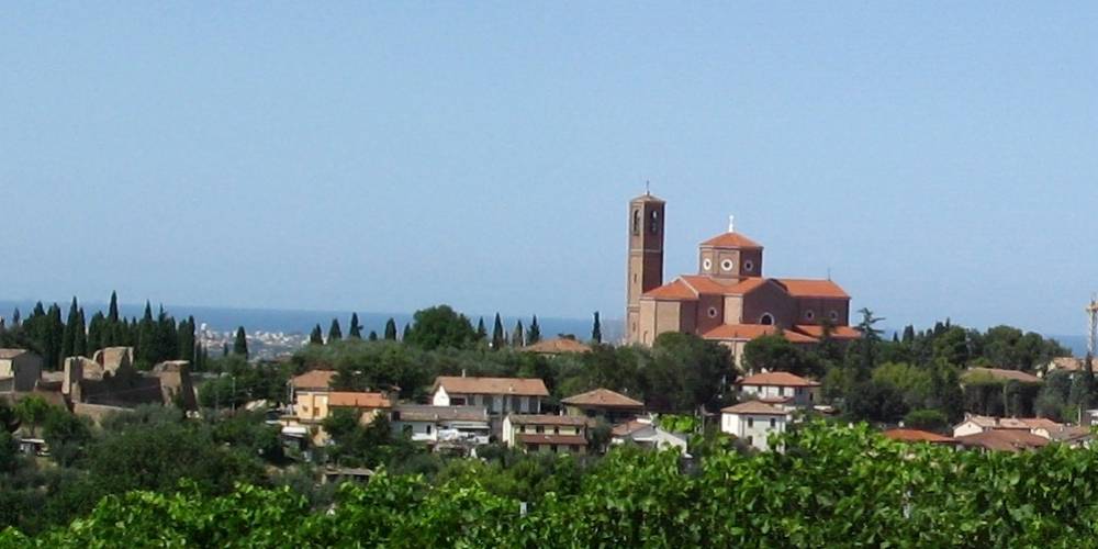 Panorama di Coriano